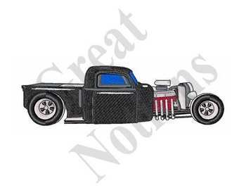 Rat Rod - Machine Embroidery Design