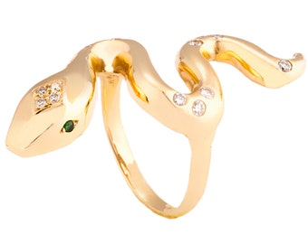 Firestarter Snake Ring