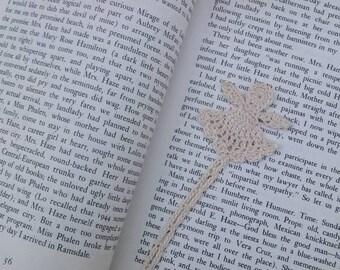 Crocheted Angel Bookmark