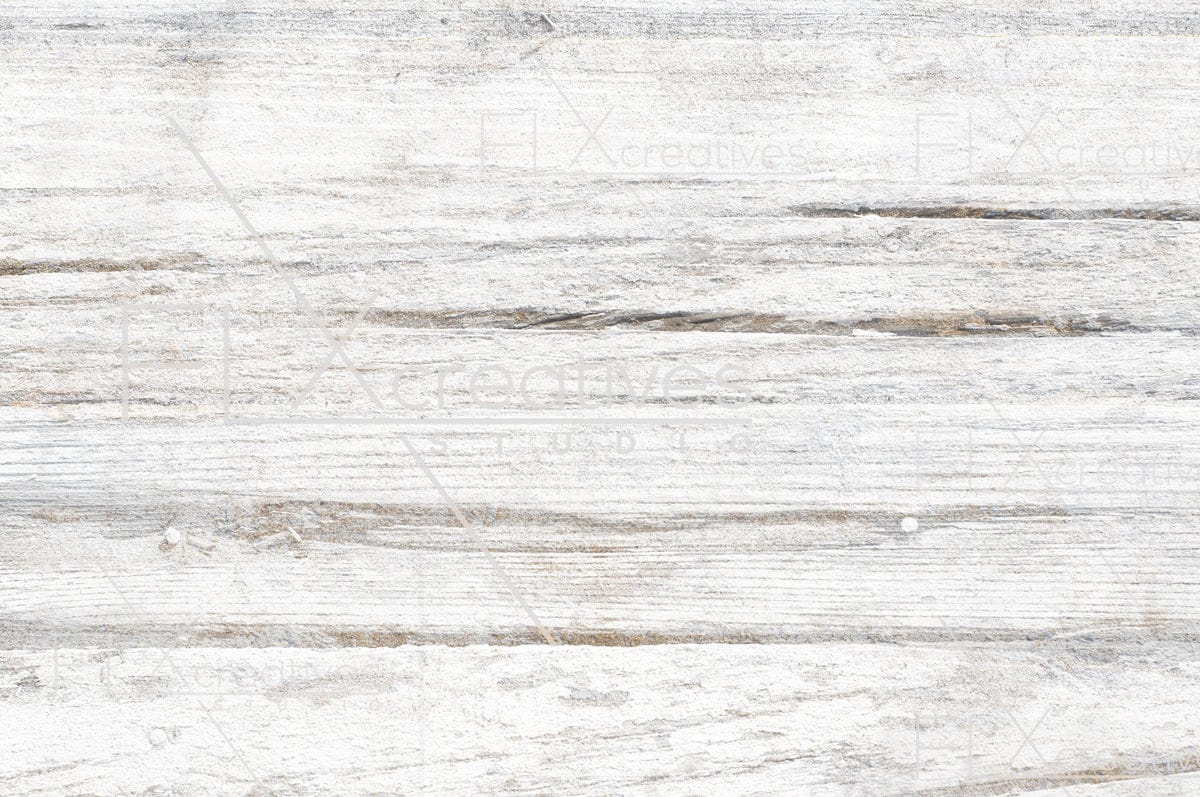 White Painted Wood Boards