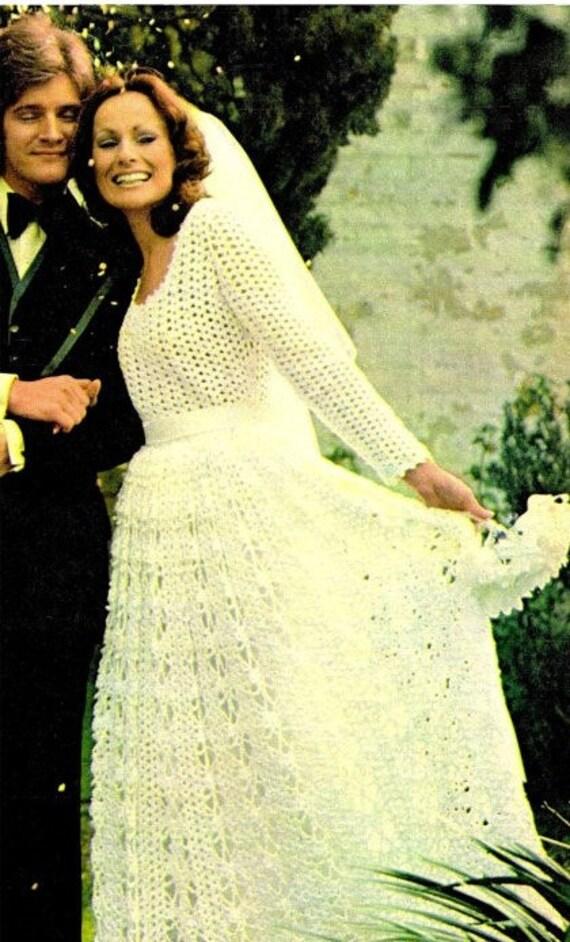 Crochet Pattern BRIDESMAID and Bride\'s WEDDING DRESS