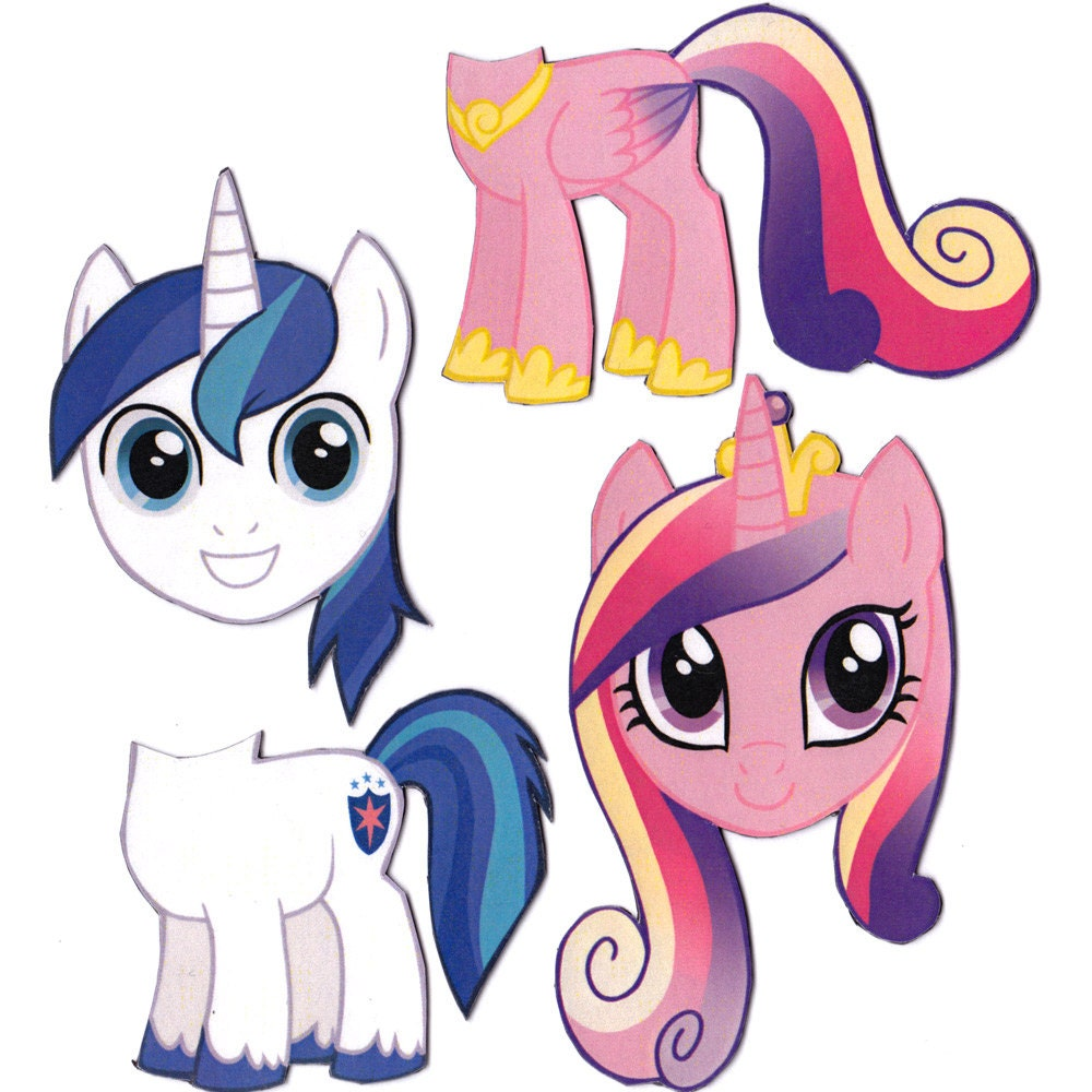 Mix and Match Magnets: Shining Armor Princess Cadence My - photo#32