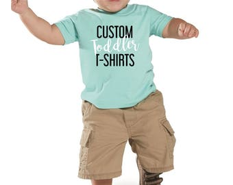 Custom Toddler Fine T‑Shirt printing / Custom t-shirt toddler / Apparel design & printing / Soft fabric / Graphic tees / Toddler sizes