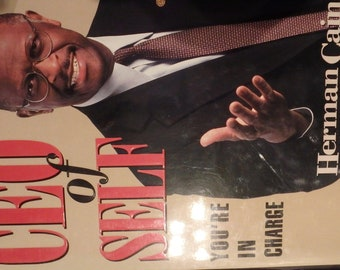CEO of Self- You're in Charge by herman cain -signed with DJ