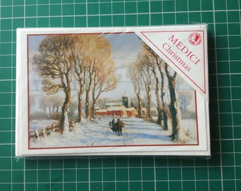Vintage Christmas Cards 6 pack