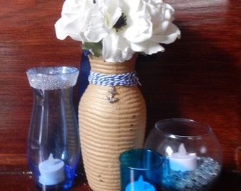 Nautical Centerpiece - Nautical Blue Decor - Mix and Match Centerpieces
