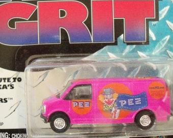 PEZ / True Grit Van / Mint on Card / Peter PEZ Graphics