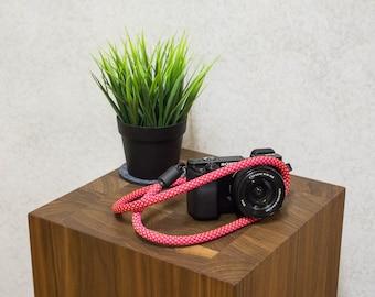 Camera Strap, Rope Camera Strap, Camera neck strap, SLR, DSLR Camera Strap, Camera Strap Sling, Nikon Camera Strap, Camera belt