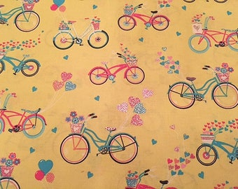 Bicycles Hearts Bikes Sparkly Hearts Love Vintage Bicycles
