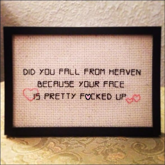 Did you fall from heaven?
