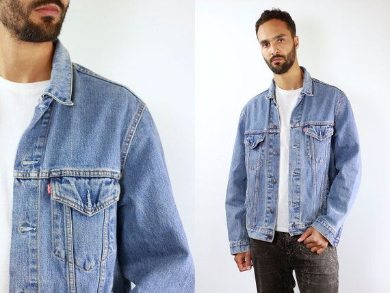 Denim Jacket Levis Jean Jacket LEVIS Denim Jacket Levis Large Jean Jacket 90s Levis Jacket Blue Vintage Denim Jacket Vintage Levis Jacket