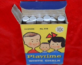 Playtime Chalk produced by Binney & Smith Inc