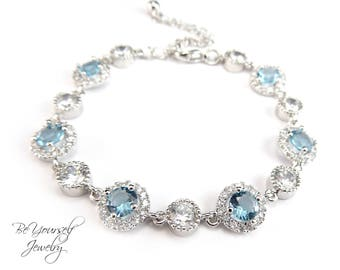 Blue wedding jewelry Etsy