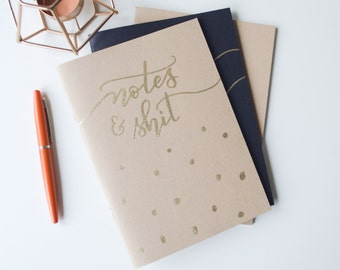 A5 Notebook, Handmade Sketchbook, Journal, Gifts For Stationery Addicts, Blank Lined Notebook