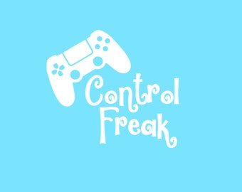 Control Freak Decal