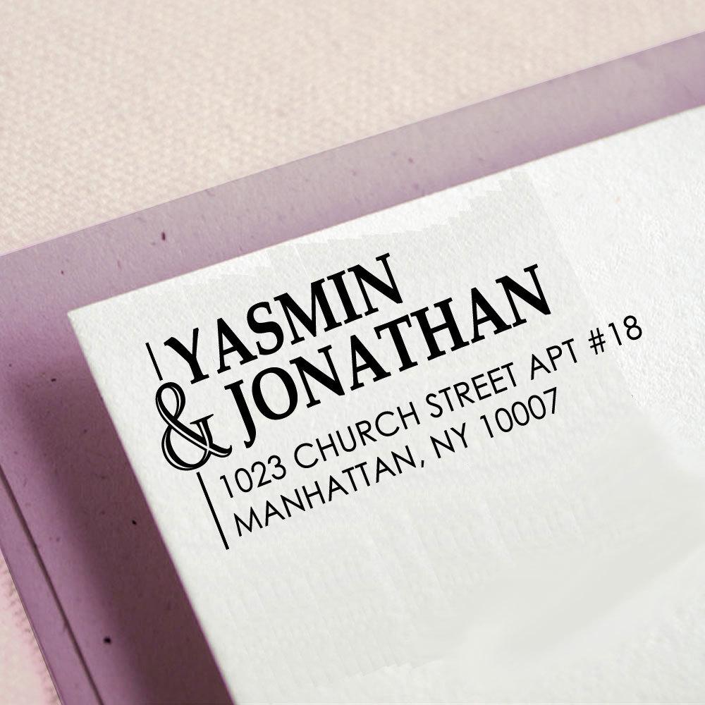 Custom Wedding Invitation Stamp Custom Return Address Stamp