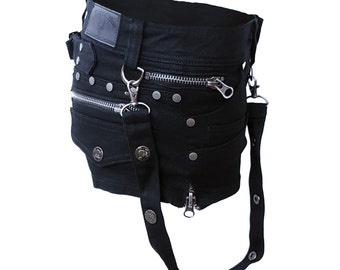 Sexy shorts in the gothic style.