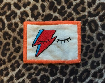 Aladdin Sane David Bowie Inspired Patch