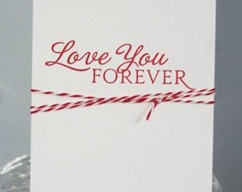 Love You Card for Valentine's Day, Wedding Card for Future Spouse, Anniversary Love You Greeting card