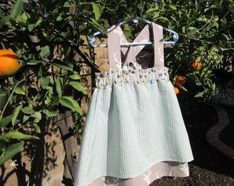 Toddler girl dress, Handmade dress, Party Dress