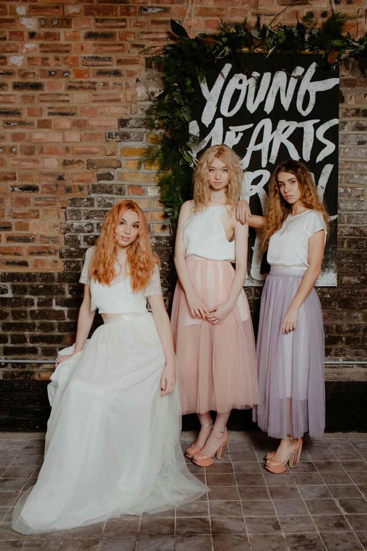 Tüllrock Brautjungfer oder Hochzeit