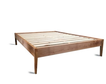 simple wood picture frames. Platform Bed Frame / Simple Wood With Sleek Tapered Legs Modern Picture Frames
