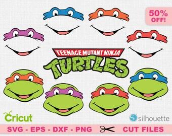 Turtles SVG, TMNT svg, Teenage Mutant Ninja Turtles, Turtles Cricut, TMNT Cricut, Ninja turtles svg, Ninja Turtles Cricut, Ninja svg