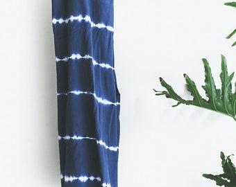 Pender Towel - Indigo Tye Dye - Turkish Towel - Plaj Towel Co.