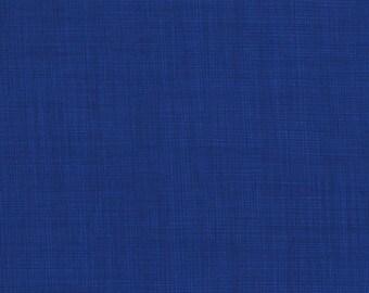 RJR Patrick Lose Basically Patrick Royal Blue woven look fabric 2031-014 BTY