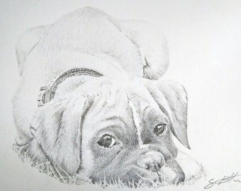 Custom Pencil Drawing