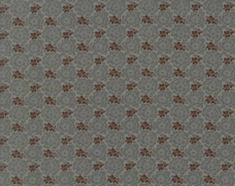 Moda Collections Preservation Quilt Fabric 1/2 Yard By Howard Marcus - Aqua 46234 11