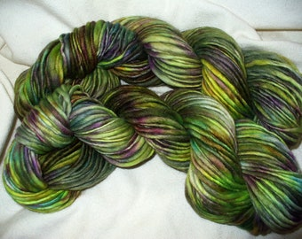 Handspun Wool Yarn for Knitting Crochet Felting