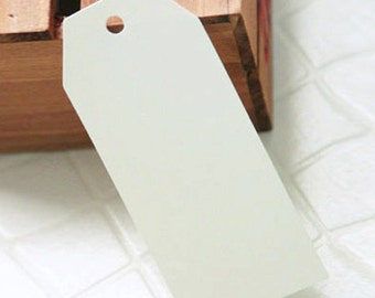 50 Standard Gift Tags - Ivory (1.8 x 3.8in)
