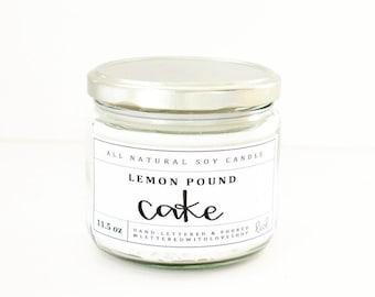 Lemon Pound Cake Candle 11.5oz