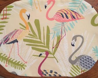 Set of Flamingo Placemats Beach