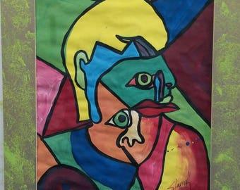 Self portrait Picasso Style