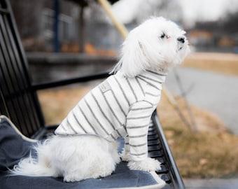Stripe Shirt – Melange Gray : NY-T25