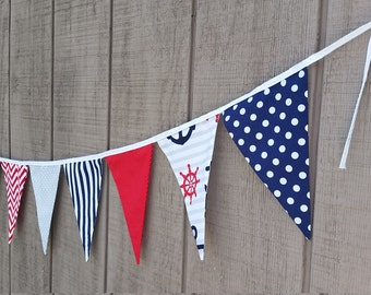 Nautical Bunting Banner