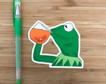 Funny Frog Cartoon Meme : Funny frog 'none of my business' birthday card