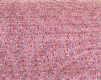Hamburger Love bits and bobs Col. 1 Pink pink jersey BioJacquardjersey Organic cotton knitting Albstoffe this summer bio jacquard
