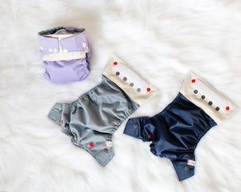Newborn Cloth Diapers - 3 Pack