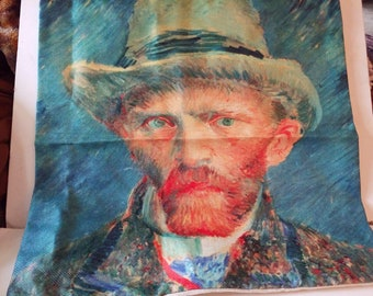 Van Gogh pillow case