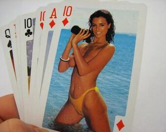 sex cards vagina nude girls erotic set of cards nude erotica mature romance vintage erotica paper ephemera 80s