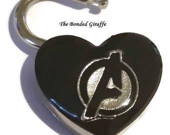 Avengers, collar lock, love lock, bdsm lock, heart lock, diary lock