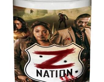 Z-Nation Ceramic Coffee Mug Beverage Tumbler Walking Dead Cup