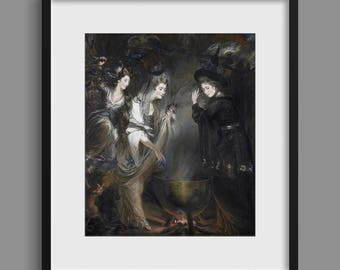 The Three Witches from Shakespeare's Macbeth - Daniel Gardner