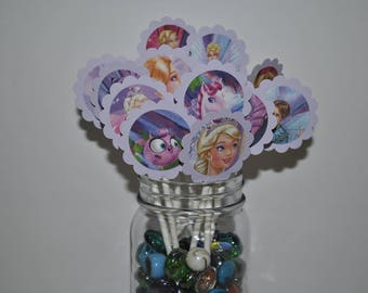 Barbie and the Fairy Princess Toppers // Barbie Fairy Cupcake Toppers //  Barbie Cupcake Toppers
