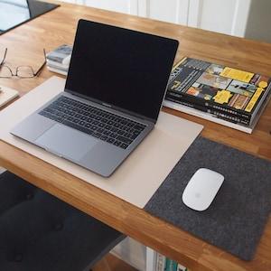 Felt desk pad Etsy
