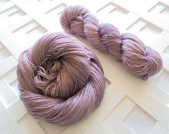 THISTLE Hand-Dyed Yarn, Indie-Dyed Yarn, Handdyed Yarn, Fingering-Weight Yarn, Sock-Weight Yarn, Superwash Merino, Silk Yarn, Knit, Crochet