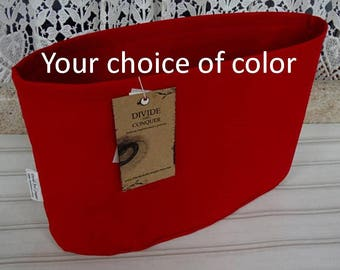 Regular width oval-Extra Tall /Purse ORGANIZER Insert SHAPER / You choose color/STURDY/ 3 Sizes Available/ Check out my shop for more styles